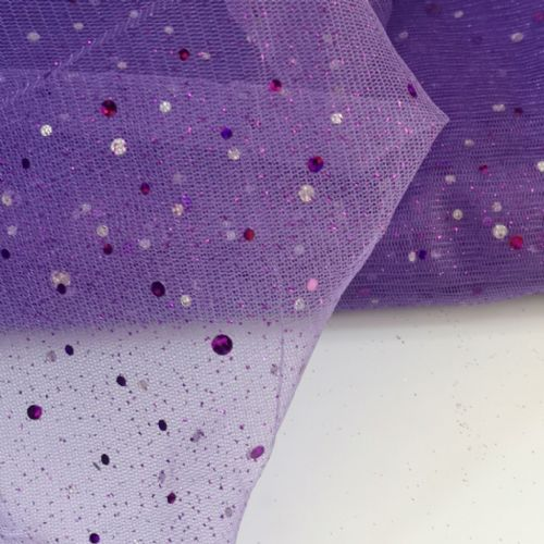 Enhanced Purple Tulle 54""